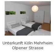 Preiswerte Monteurzimmer / Monteurwohnung in Köln