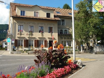 Gasthof National, Pension bei Solothurn
