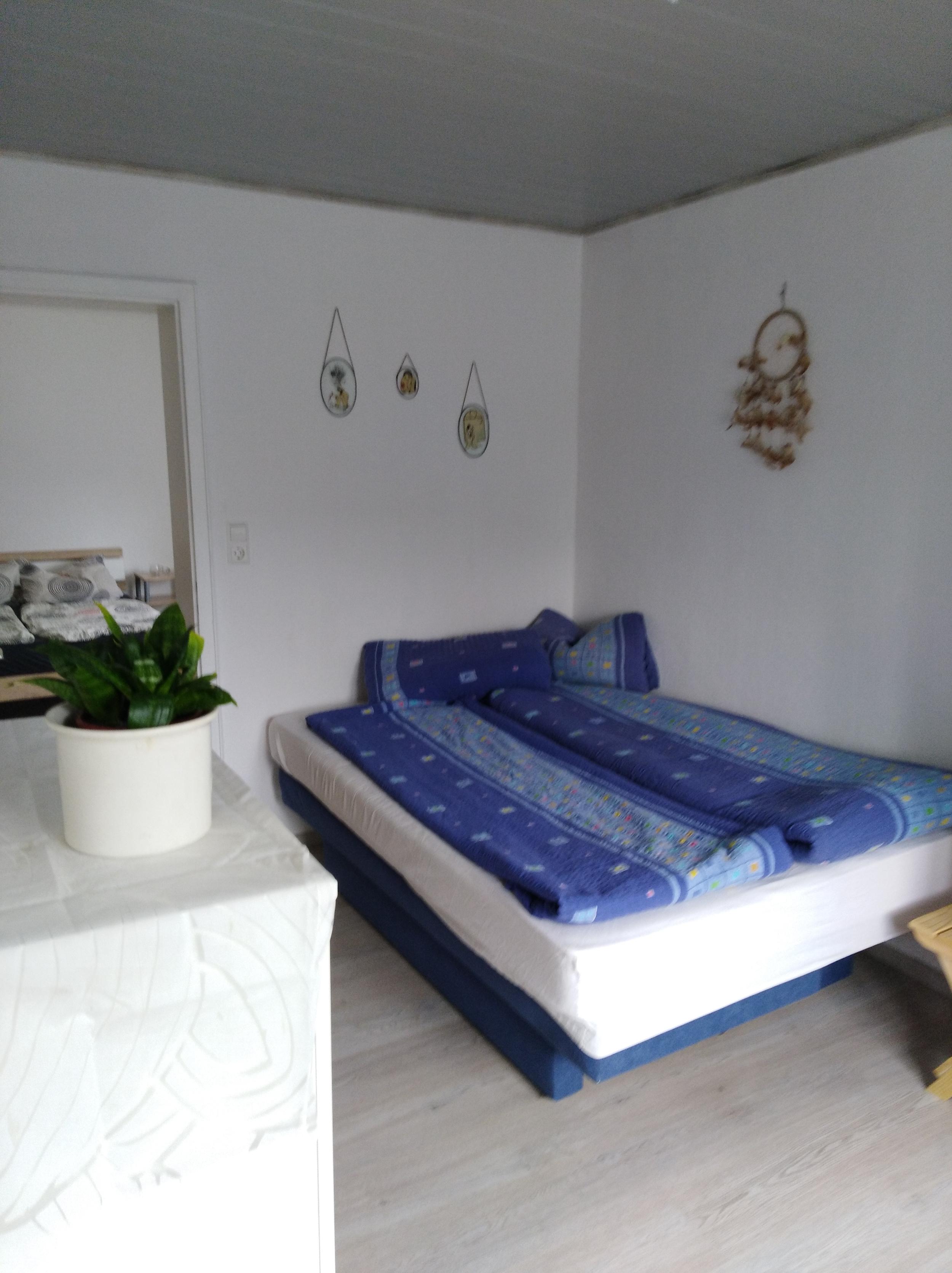 Monteurzimmer mit Doppelbett