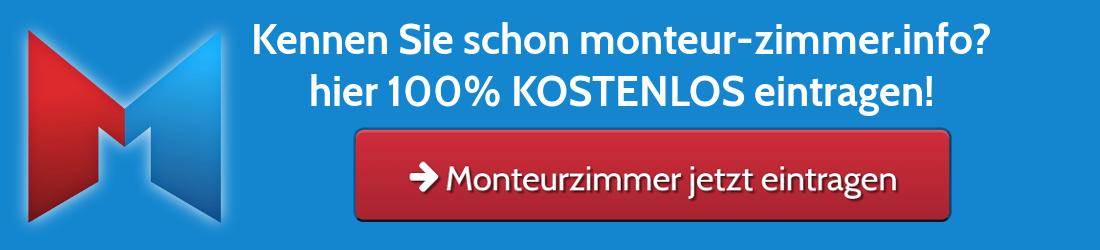 Monteur-Zimmer kostenlos eintragen